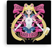 Silver Crystal Hard Cider Canvas Print