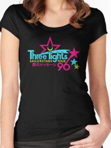 Three Lights Sailorstars Tour '96 Women's Fitted Scoop T-Shirt