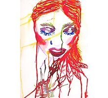 Ink Girl Photographic Print