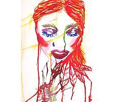 Ink Girl Photographic Print