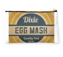 Vintage Burlap Dixie Egg Mash Feed Sack Studio Pouch
