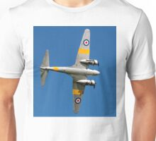 Avro Anson T.21 WD413 G-VROE banking Unisex T-Shirt