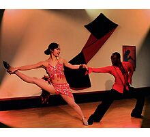 Salsa Inferno Photographic Print