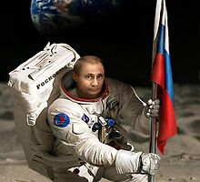 Putin in Space by Derp234