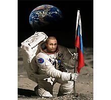 Putin in Space Photographic Print