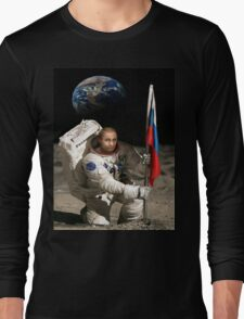 Putin in Space Long Sleeve T-Shirt