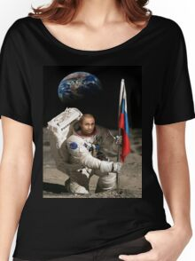 Putin in Space Women's Relaxed Fit T-Shirt