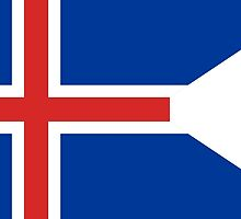Roundel of the Icelandic Coast Guard by abbeyz71