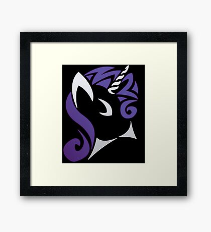Tribal Rarity [CHU Logo] Framed Print