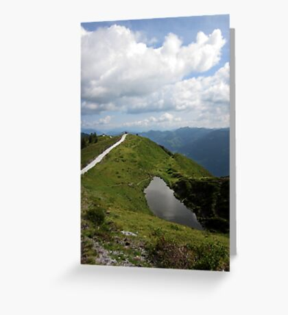 Step into the Sky Greeting Card