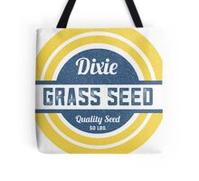 Dixie Grass Seed Vintage Feed Sack typography Tote Bag