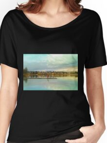 Child At Green Lake Women's Relaxed Fit T-Shirt