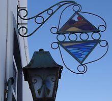 Suncatcher sign in Teguise, Lanzarote by Allen Lucas