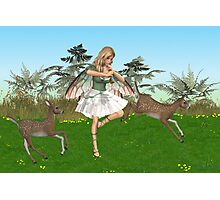 The Danceing Fae Photographic Print