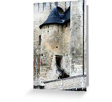 Turret Doorway Greeting Card