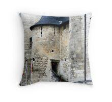 Turret Doorway Throw Pillow