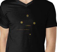 Zodiac - Libra Mens V-Neck T-Shirt
