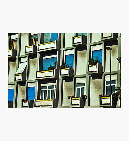 City balconies Photographic Print