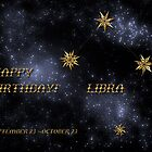 Happy Birthday Libra! by Christine Kühnel