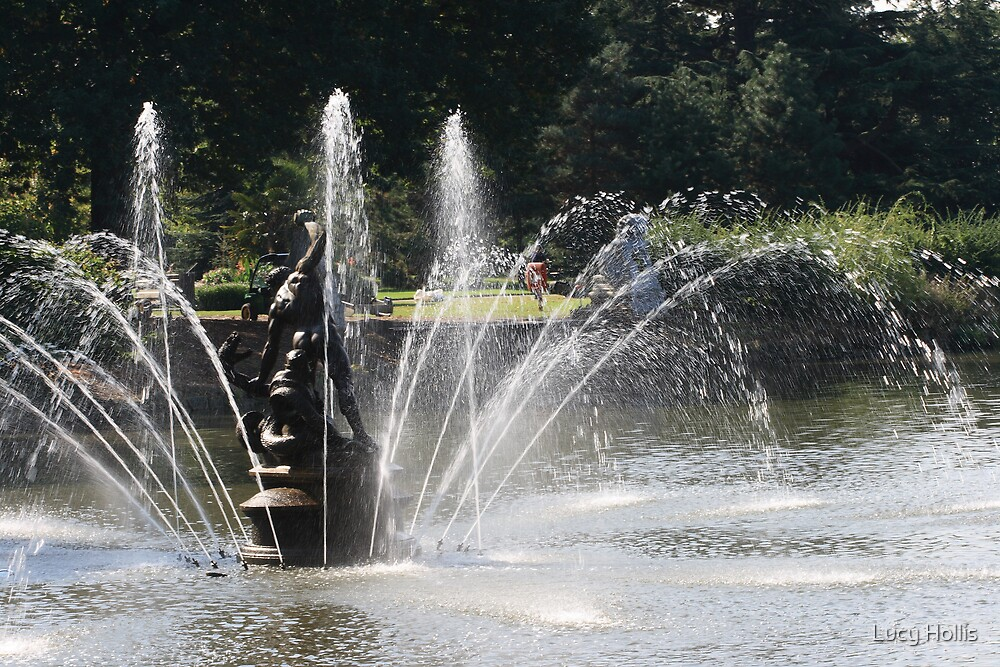 Fountains at Play by Lucy Hollis