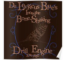 Dr. Leviticus Blue's Incredible Bone-Shaking Drill Engine - Alt. Version Poster
