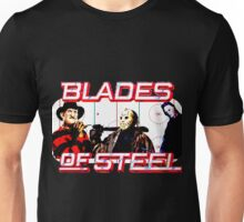 Blades of Steel ... and horror Unisex T-Shirt