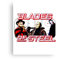 Blades of Steel ... and horror Canvas Print