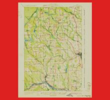 Maine USGS Historical Map Caribou 807427 1932 62500 One Piece - Long Sleeve
