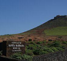 Castillo de Santa Barbara, Teguise, Lanzarote by Allen Lucas
