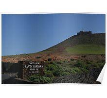 Castillo de Santa Barbara, Teguise, Lanzarote Poster