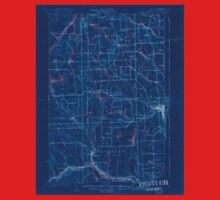 Maine USGS Historical Map Caribou 807428 1932 62500 Inversion One Piece - Short Sleeve