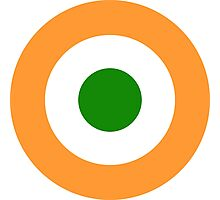 Roundel of the Indian Air Force  Photographic Print