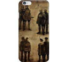 Dark Souls- The Classes  iPhone Case/Skin