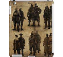 Dark Souls- The Classes  iPad Case/Skin