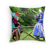 Strike Two! Throw Pillow