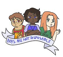 Boys Are Not Disposable by kawaii-kekki
