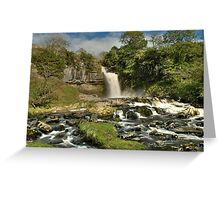 Thornton Force waterfall Greeting Card