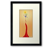 A Balancing Act for the Masses Framed Print