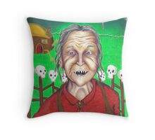 Baba Yaga Throw Pillow