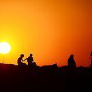 Summer breaks through by Georgie Hart