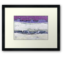 Winter Fortress -Available As Art Prints-Mugs,Cases,Duvets,T Shirts,Stickers,etc Framed Print
