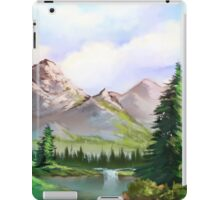 Still Valley iPad Case/Skin