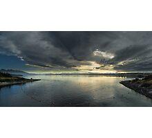 Lake te anau at sunrise Photographic Print
