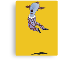 Levitating Clown Canvas Print