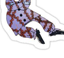 Levitating Clown Sticker