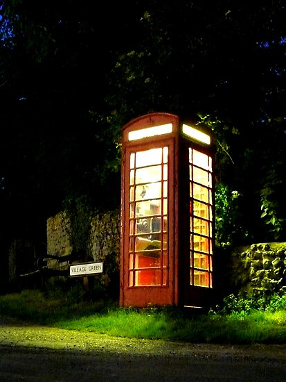 Piddinghoe Telephone Box by mikebov