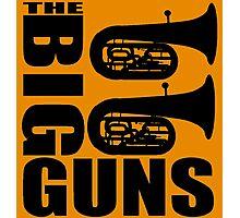 THE BIG GUNS-TUBA Photographic Print