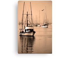 Dawn at Morro Bay Canvas Print