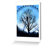 A tree in the Eye of London Greeting Card