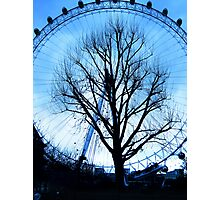 A tree in the Eye of London Photographic Print